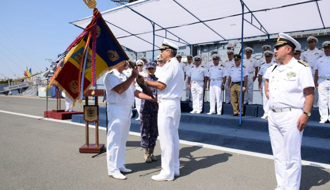Foto: Schimbări la vârf în Marina Militară Română. Cine și pe ce funcții a fost promovat