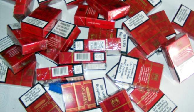 Foto: S-a ales cu dosar penal pentru contrabandă cu ţigări