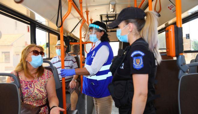 Foto: Controale în autobuzele CT Bus: