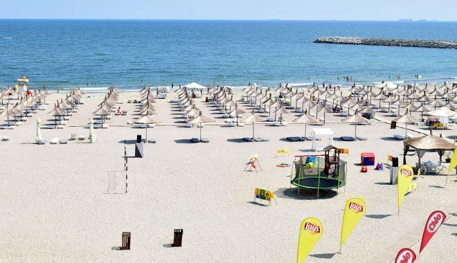 Foto: Controale comune pe plaje ale Gărzii de Mediu și Administrației Bazinale de Apă