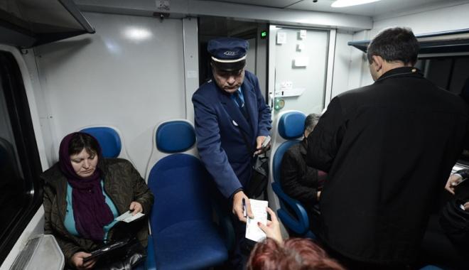 """Foto: Supra-controale pe trenuri.  Ce amendă rişti dacă mergi cu """"naşu'"""""""