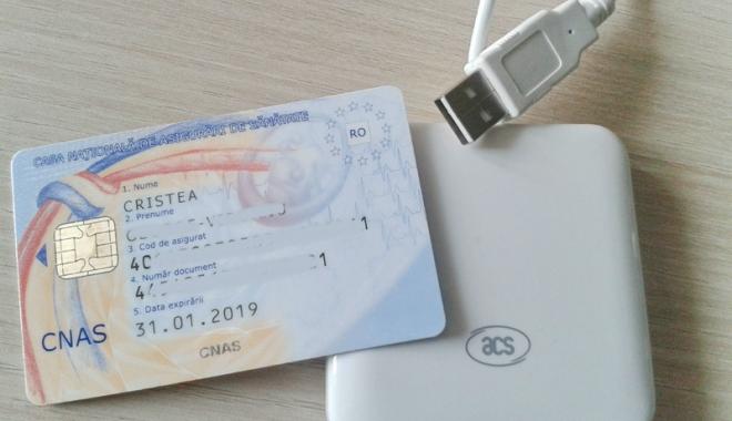 Foto: Control la CNAS,  privind cardul naţional de sănătate