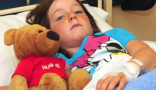 Foto: Jale în spital! Copiii bolnavi, internaţi şi câte doi în pat