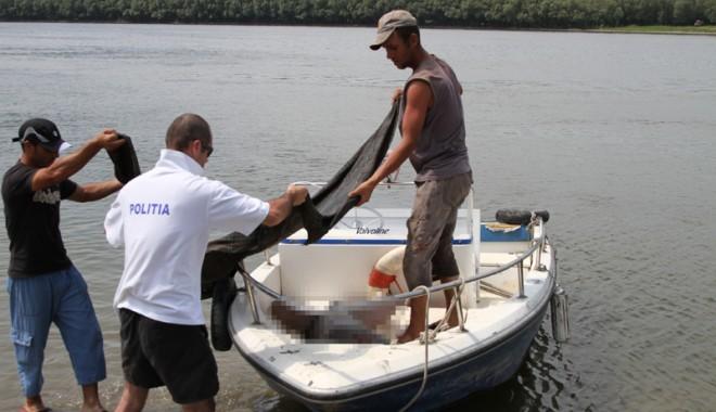 Foto: Trupurile celor doi fraţi înecaţi în Dunăre au fost găsite ieri