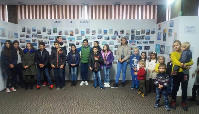 """Foto: Trofeul """"Copiii şi marea"""", câştigat  de un elev  din Moldova"""