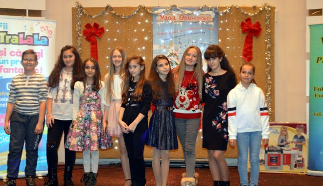 """Foto: Copiii talentați  din Cernavodă au obținut 26 de trofee la Festivalul """"Magia Crăciunului"""""""