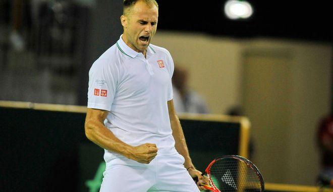 Foto: Tenis / Cupa Davis. România conduce cu 1-0 Polonia: Marius Copil l-a învins pe Majchrzak