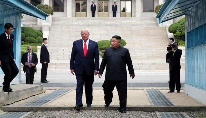 """Foto: Coreea de Nord: """"Întâlnirea Kim-Trump a fost istorică, extraordinară"""""""