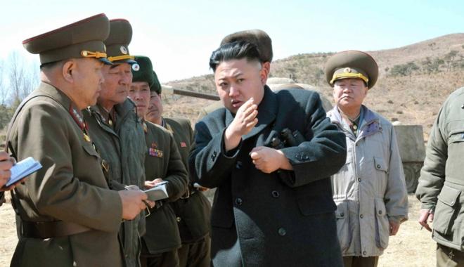 """Foto: """"Coreea de Nord poate testa  în orice moment  o rachetă balistică intercontinentală"""""""