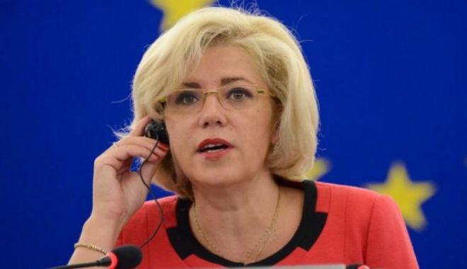 Foto: Corina Creţu: Am votat pentru un viitor mai bun pentru România