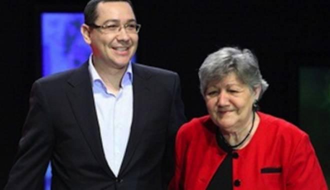 Foto: Mama lui Victor Ponta, la DNA