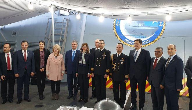 Corveta națională a Turciei, TCG BÜYÜKADA, a sosit în Portul Constanța - corveta1-1556205891.jpg