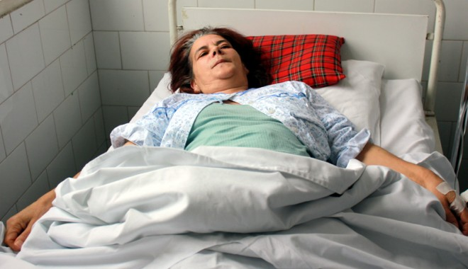 Foto: Coşmarul unei constănţence: operată de o tumoare de 10 kilograme!