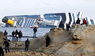 Foto: Desp�gubiri de 11.000 de euro pentru fiecare pasager de pe Costa Concordia
