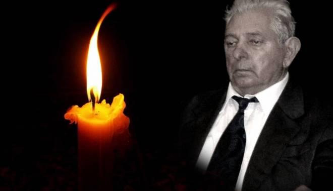 """Foto: Doliu la Universitatea """"Ovidius"""". S-a stins din viaţă profesorul Nicolae Costea"""