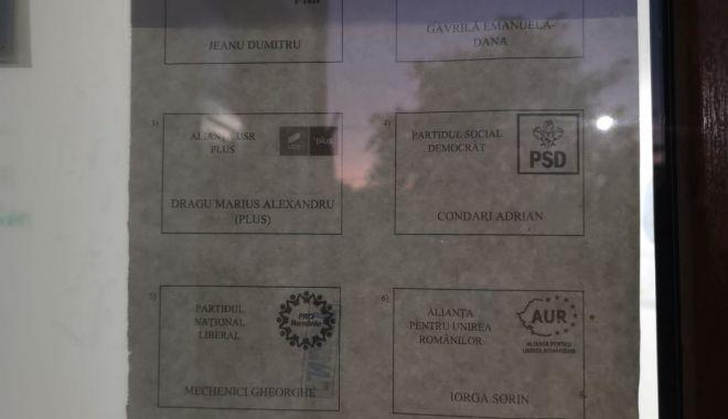 Foto: Procesul electoral de la Costinești suspendat! Buletinele de vot vor fi retipărite