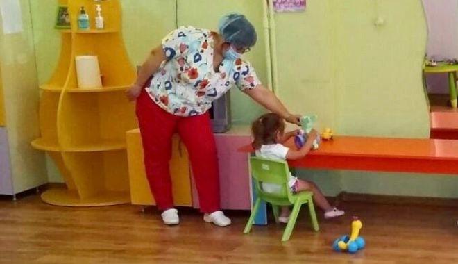 """Foto: Creșele din Constanța, redeschise. """"Triajul epidemiologic se face zilnic"""""""