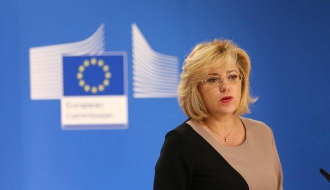 Foto: Comisarul european Corina Creţu va candida la europarlamentare din partea Pro România