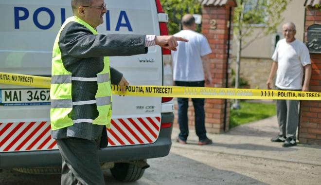 Foto: CRIMĂ înfiorătoare la Limanu, urmată de un scenariu de film! Autorii au fost arestaţi