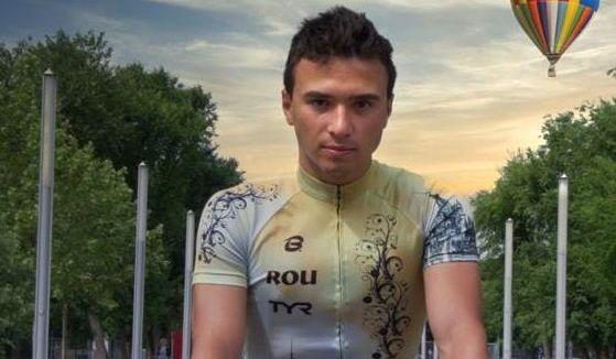 Foto: Cristian Tranulea, antrenament intens pe bicicletă
