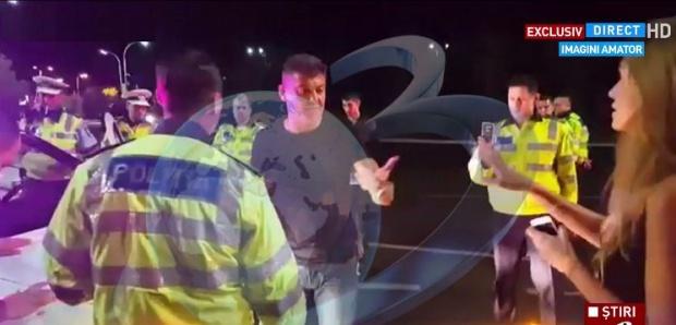 Foto: Marian Godină, prima reacţie după ce Cristian Boureanu a lovit şi înjurat un poliţist de la Rutieră