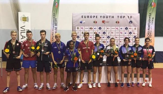 Foto: Cristian Pletea, cel mai bun  la Europe Youth Top 10
