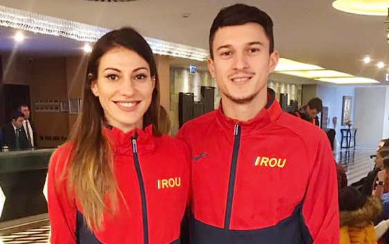 Foto: Cristina Bujin, medalie de argint la Campionatele Balcanice de atletism