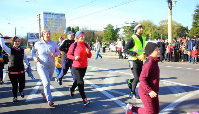 Foto: Constănţenii, invitaţi să alerge la Crosul 1 Decembrie