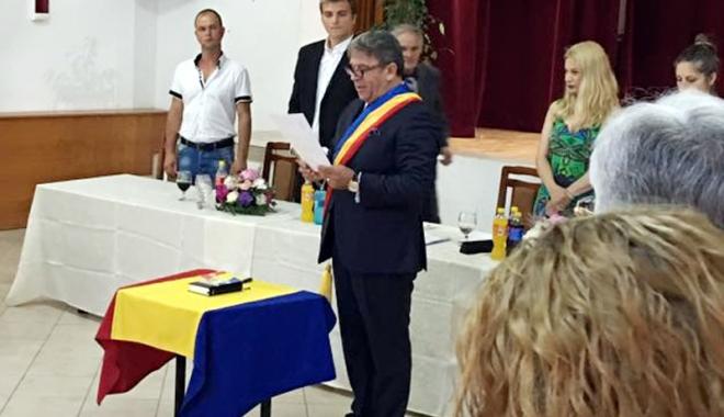 Foto: Gheorghe Frigioi, început de drum într-un nou mandat. Ce proiecte şi investiţii are pentru Crucea