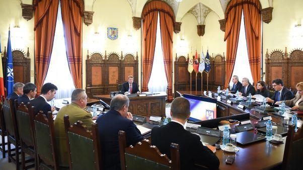 Foto: CSAT se întruneşte în şedinţă. Iată ce subiecte sunt pe ordinea de zi
