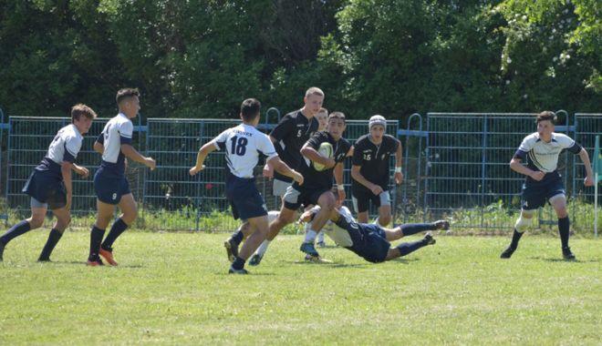 """Foto: CS Cleopatra, victorioasă la Memorialul  """"Mihail Naca"""" la rugby"""