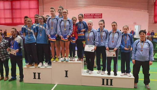 Foto: CS Farul Constanţa, campioană la Naţionalele de tenis de masă pe echipe