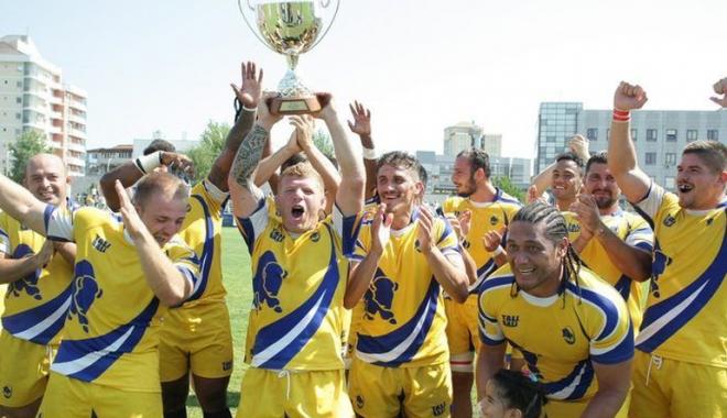 Foto: CSM Ştiinţa Baia Mare a câştigat Cupa Regelui la rugby