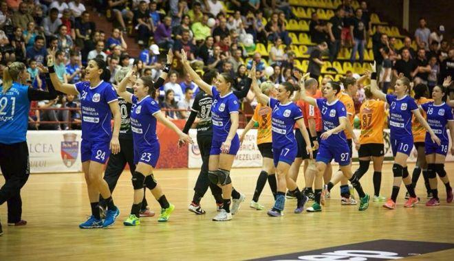 Foto: CSM Bucureşti s-a calificat în Final Four al Ligii Campionilor