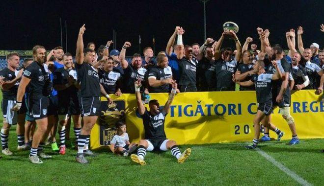 Foto: CSM Bucureşti a cucerit Cupa Regelui la rugby