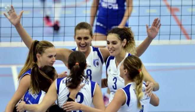 Foto: România scrie istorie! CSM București a câștigat Cupa Challenge