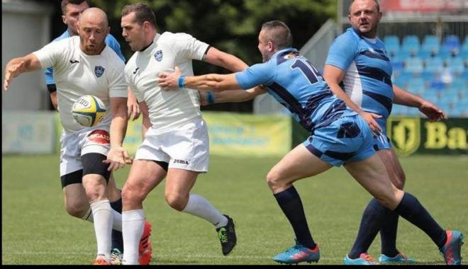 Foto: CS Năvodari, locul doi în prima etapă a Campionatului Naţional  de Rugby în 7