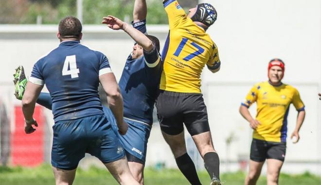Foto: CS Năvodari a surclasat-o pe CSU Arad, în DNS la rugby