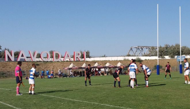 CS Năvodari, patru victorii şi o înfrângere la primul turneu de rugby în 7 - csnavodari-1535472067.jpg