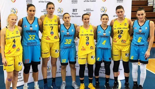 Foto: CS Phoenix-Ştiinţa, finalistă la turneul 6 al Cupei României de baschet 3x3