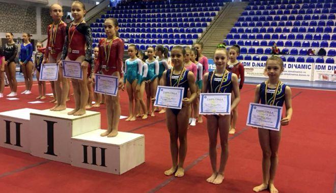 """Foto: CSS 1 Constanţa, """"regina"""" Naţionalelor de gimnastică"""