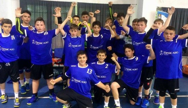 Foto: Handbaliştii juniori de la CSS Medgidia, locul 6 la Campionatul Naţional