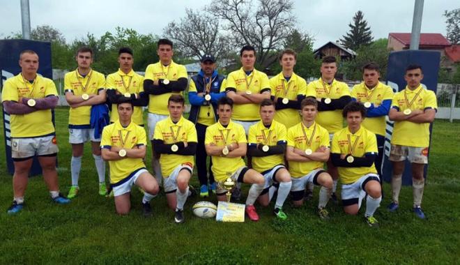 Foto: CS Tomitanii U17, campioană naţională la rugby în X