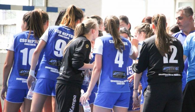 Foto: CSU Neptun, gata pentru meciul cu CS Danubius Călărași