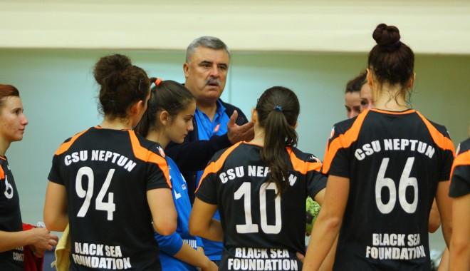 Foto: Handbal feminin: CSU Neptun, învinsă de HC Dunărea Brăila
