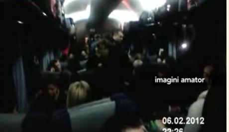 Foto: Trenul GROAZEI: 24 ore de la Constan�a la Bucure�ti (VIDEO)