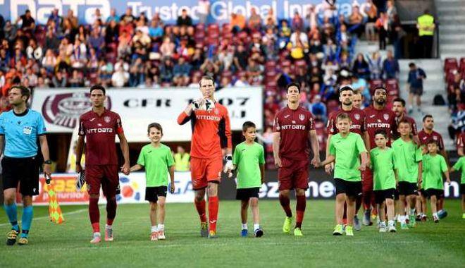 Foto: Hora bucuriei de nedescris în Gruia! FR Cluj, calificată în turul al doilea preliminar al Ligii Campionilor, după 3-1 cu FC Astana