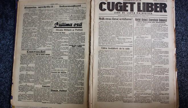 """Foto: """"Cuget Liber"""" - 70 de ani de la primul număr"""