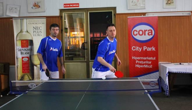 Foto: Cuget Liber îşi va apăra titlurile la Cupa Presei  la tenis de masă