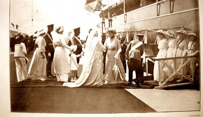 Foto: Cum a fost întâmpinată la Constanţa, acum 100 de ani, familia imperială rusă